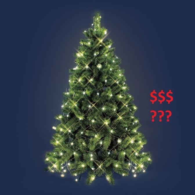 Was kostet eigentlich der Strom für meine Lichterkette?