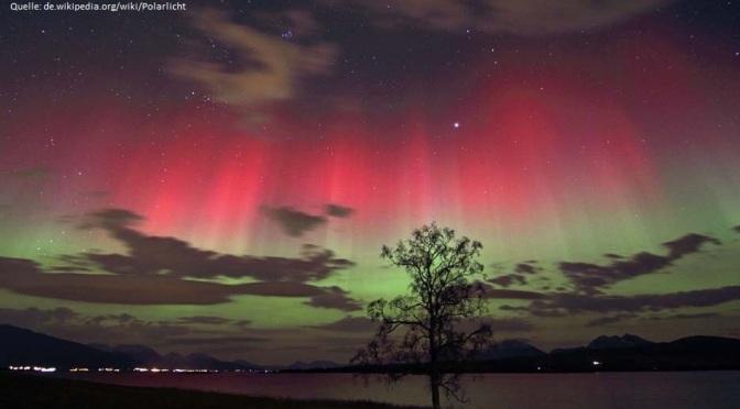 Polarlichter  –  Wo kommen die eigentlich her?