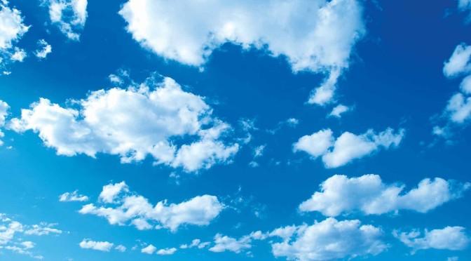 Warum sind Wolken weiß oder auch grau?