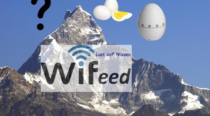Warum dauert es in den Bergen länger ein Ei zu kochen?