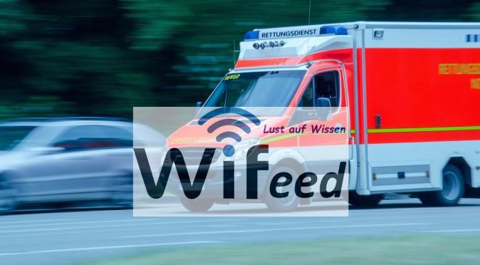 Warum ändert eine Krankenwagen Sirene beim Vorbeifahren ihren Ton?