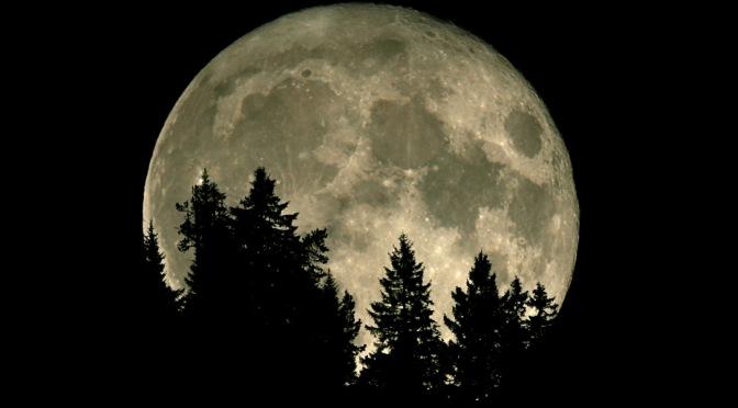 Warum erscheint der Mond am Horizont größer?